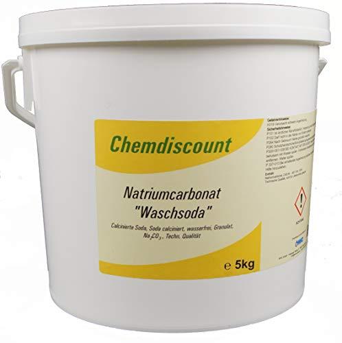 5kg Waschsoda (Natriumcarbonat Na2CO3 calcinierte Soda) Granulat