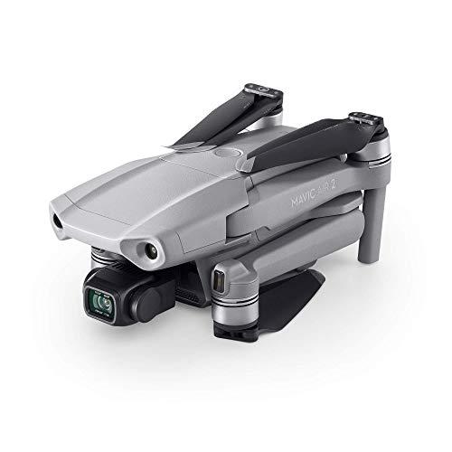 """DJI Mavic Air 2 Fly More Combo Drone Quadcopter UAV con Telecamera 48MP 4K, Video 1/2"""", Sensore CMOS, Stabilizzatore 3 Assi, 34 min di Volo ActiveTrack 3.0, Grigio"""
