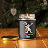 Candle Dabbing Rabbit Happy Easter Day