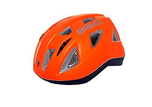 Briko Casco ciclismo - Briko BH0006 PAINT B015 BLUE-ORANGE