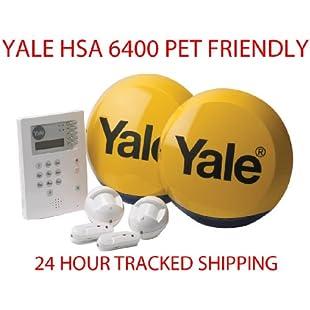 Yale HSA 6400 Premium PET FRIENDLY Telecommunicating Alarm System Wireless Wirefree:Gamesbonusstar
