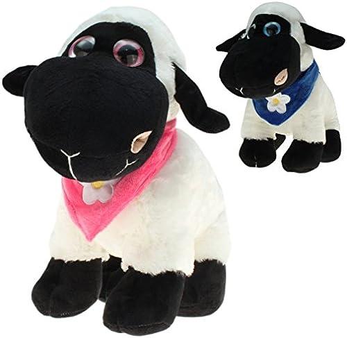 Kingdiscount 96 Stück Plüsch Schafe Stefan und Steffi 20 cm
