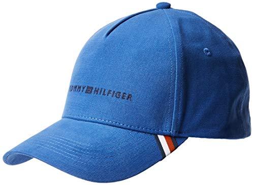 Tommy Hilfiger Herren Uptown Baseball Cap, Blau (Blue Quartz 901), One Size (Herstellergröße:OS)