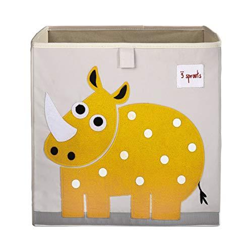 3 groddar kub förvaringsbox - organiseringsbehållare för barn och småbarn
