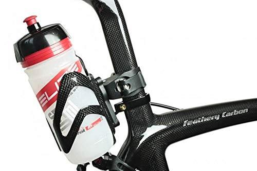 m-bikeparts Feathery Carbon Fahrrad Flaschenhalter Sattelstütze FC281Sportly - Elite Flasche.