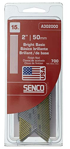 "Senco A302000 15 Gauge by 2"" Bright Basic Finish Nail"