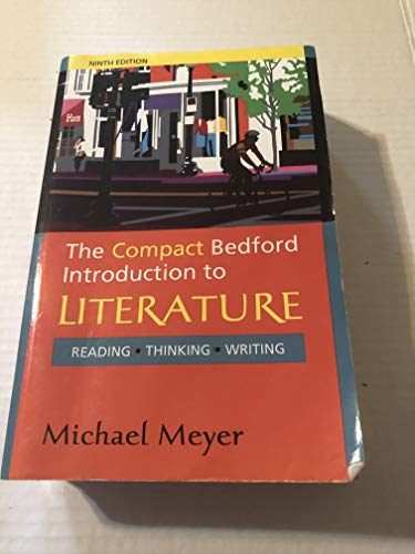 Price comparison product image The Compact Bedford Introduction to Literature