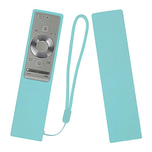 Protective Silicone Remote Case for BN59-01265A BN59-01291A BN59-01270A (RMCRMM1AP1) Smart TV Remote Cover Shockproof Remote Holder for Samsung OneRemote Anti-Slip Anti-Lost with Lanyard