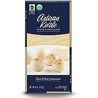 12-Pack Artisan Kettle Organic White Chocolate Baking Bar, 4 Oz