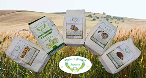5kg Mix Pack Sabores Antiguos 'tipo 2 Harinas, Semolina Triturada, Cappelli, Kamut, Hechizo' -molino Zappala '