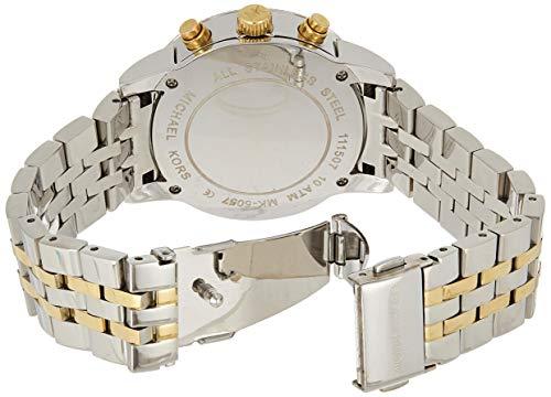 Michael Kors Reloj Cronógrafo para Mujer de Cuarzo con Correa en Acero