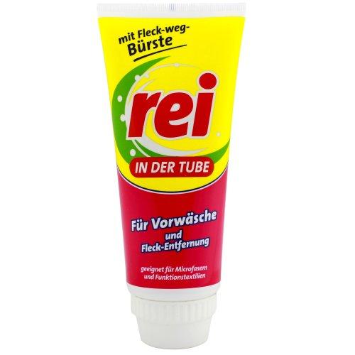 REI in der Tube für Vorwäsche und Fleckentfernung, 200ml /mit Fleck-weg-Bürste