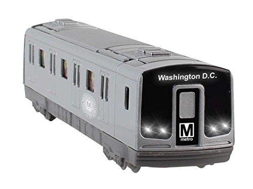 Daron Washington DC Metro Subway Pullback with Lights and Sound