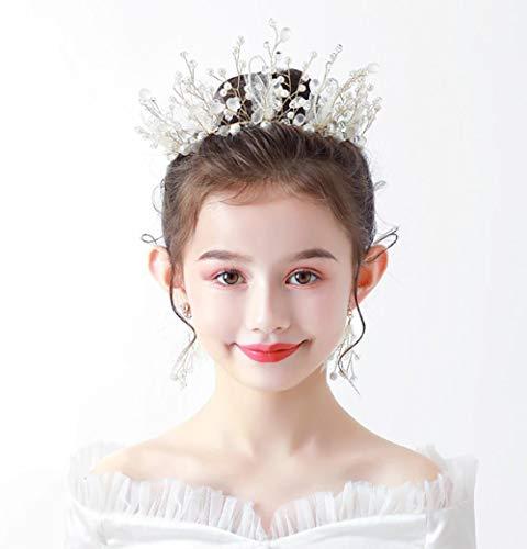Kinderen Kroon Hoofdtooi Meisje Garland Hoofd Bloem Sieraden Bloem Prinses Bos Meisje Bloem Bruidsjurk Verjaardag Haar Hoop Haaraccessoires