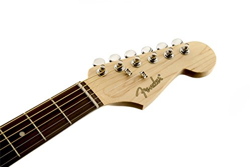 Fender Stratacoustic Acoustic Electric Guitar, Black