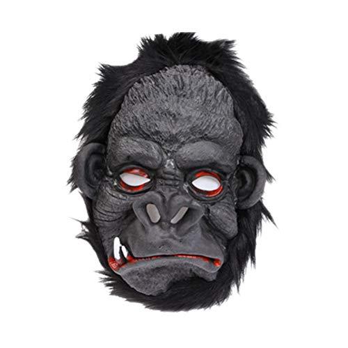 PRETYZOOM - Mscara de orang-utan para disfraz