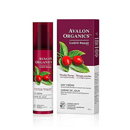 Avalon Organics Day Crème, Wrinkle Therapy, 1.75 Oz