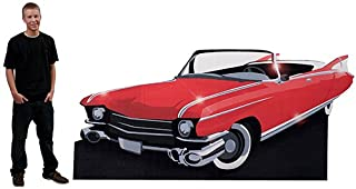 50s Fifties Drive in Convertible Standee Party Prop Standup Photo Booth Prop Background Backdrop Party Decoration Decor Scene Setter Cardboard Cutout