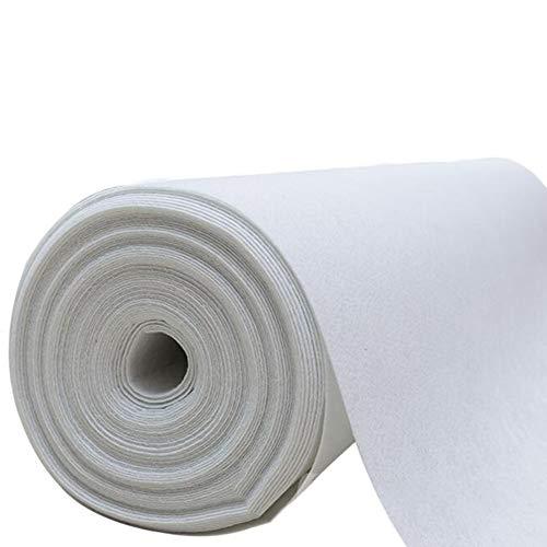 Tapis de Mariage Blanc Jetable Polyester Non dérapage Tapis de Couloir, Épaisseur 2mm, 15 Tailles en Option (Color : White, Size : 1 * 20m)