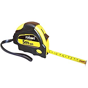 Customer reviews Rolson 50535 5m x 19mm Measure Tape