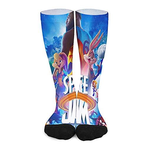 Mens Socks 3D Printing Novelty Cartoon Socks Fashion Casual Autumn and Winter Long Socks for Boys and Girls