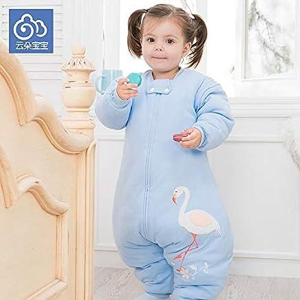 RubyShopUU Autumn and Winter boy Girl chirdren Envelop for Newborns Split Sleeping Bag Pure Cotton Thickened