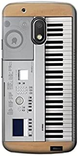 R0891 Keyboard Digital Piano Case Cover For Motorola Moto G4 Play