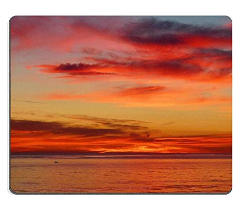 Mouse Pad Gaming Mouse pad Natural Rubber Mouse mat Seaford Sunset Adelaide Dailyshoot Set of Natural Rubber Material M0A11437