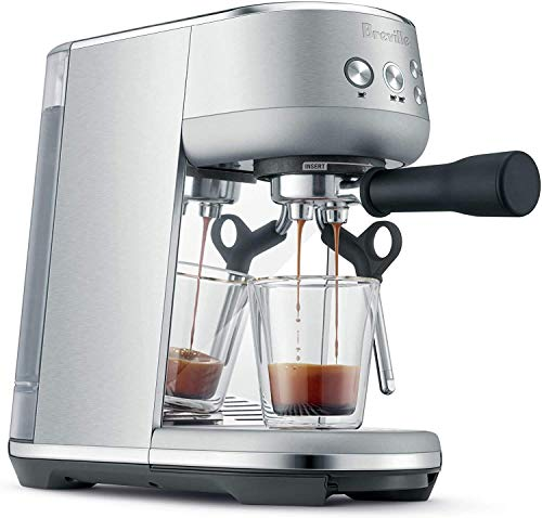 Breville Bambino Plus Espresso Machine, Brushed Stainless Steel, One Size