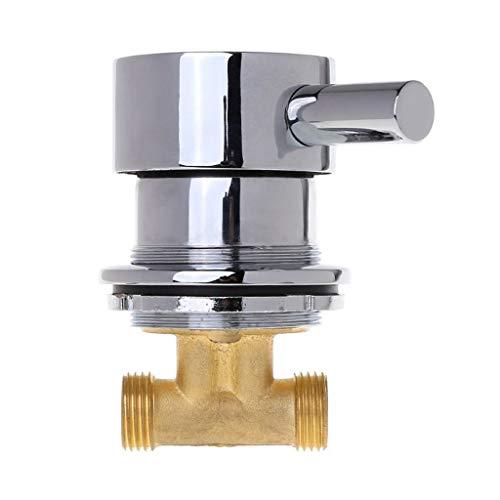 YWSZJ Mezclador termostático de la válvula de Mezcla de Agua Caliente y fría del G1 / 2'Faucet de la válvula termostática de Dos en y uno para la Ducha Dropshipping Fácil de Instalar y Usar