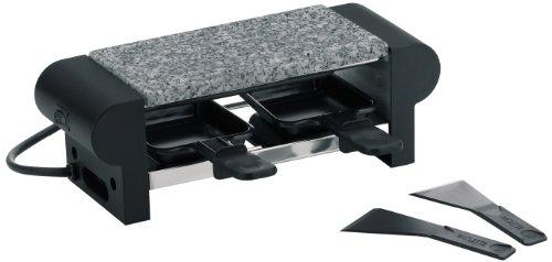Kela 66493 Raclette mit Granitplatte, Für 2 Personen, 350 W, 230 V, Splügen