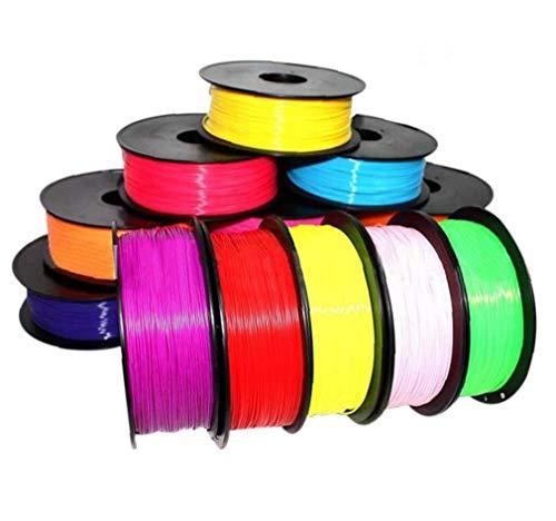 Zonster 1pc zufällige Farbe der neuen Qualitäts-1.75mm Druck Glühfaden Abs Modellierung Stereoscopic für 3D-Zeichnung Printer Pen