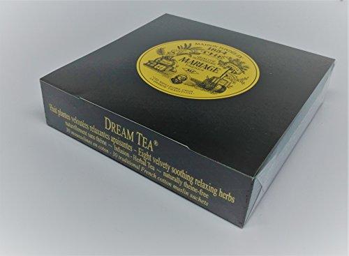 Inconnu Mariage Frères - Dream Tea - Boîte de 30 sachets Mousseline de thé