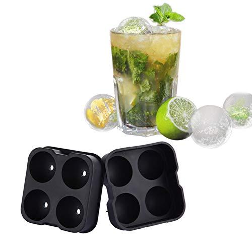 ZHENGCHENG Eismaschine Maschine Eisball Herstellung Nolds Bar Drink Sphere Round Ball Eisziegel Würfel Maker Trays Form Eisbehälter