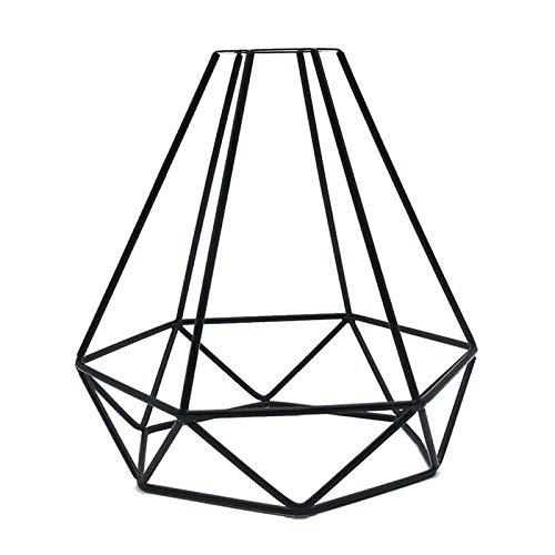 Vintage Käfig Draht Lampenschirm, MOTENT Retro Industrielle Metall DIY Stehlampe Pendelleuchte 8,27