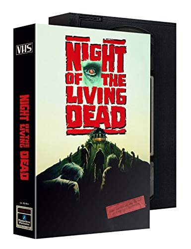 Night of the living dead - Mediabook - Limitiert auf 500 Stück - VHS Edition Slipcase (+ DVD) [Blu-ray]