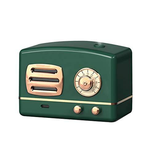 Humidificador de aromaterapia,Purificador de Aire,200ML Súper Mudo Difusores de aceites Esenciales,7 Colores Difusor LED,USB Mini Humidificador, para Bebes,Hogar,Oficina,Dormitorio (Grün)