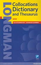 Longman Collocations Dictionary and Thesaurus (Paper and Online Access) by Pearson Education(2015-07-05)
