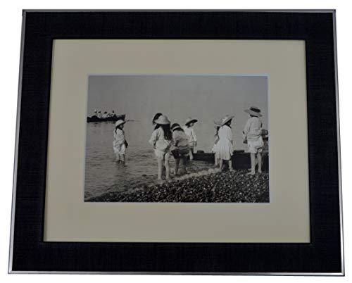 Nielsen aura Cadre photo format 20x20 Noir bois passe-partout cadre photo deco