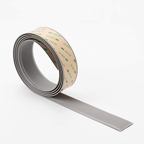 ZHXY Treppenprofil/Treppenkantenprofil,Treppenkante Selbstklebendes Treppenkanten-Profil,Selbstklebendes PVC-Bandsilikon,rutschfest,verschleißfest,frostbeständig und hitzebeständig.
