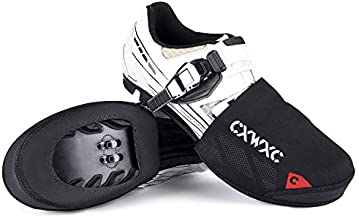 CXWXC Cycling Toe Covers for Men Women - Cycling Shoe Covers Winter Waterproof Breathable - Bike Overshoes Cold Weather Thermal Warm