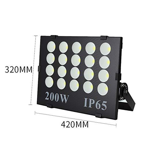 Projecteur LED,Extérieure D'éclairage Anti-déflagrante De Chantier De Construction De Stade De Projecteur Mené Imperméable Mené Superbe Extérieure (taille : 200W)