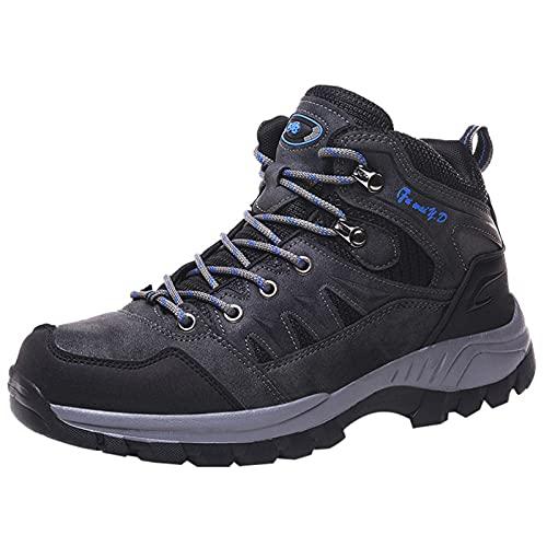 BAOFUBA Trekkingschuhe Herren Wanderschuhe rutschfeste Hiking SneakerLeichte Atmungsaktiv Outdoor Sportschuh