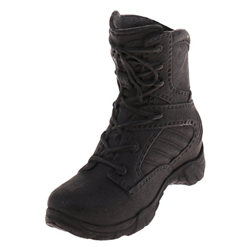 Baoblaze 1/6 Scale Shoes Combat Boots for 12inch Female Action Figures Phicen Hot Toys