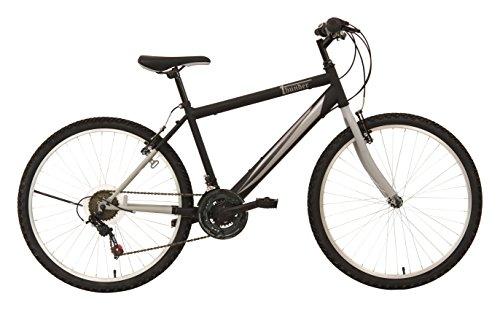 F.lli Schiano Thunder - Bicicleta de montaña para Hombre, Color Negro/Gris, Cambio...