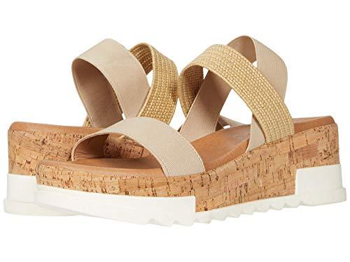 Steve Madden Kabel Wedge Sandal Natural 8 M