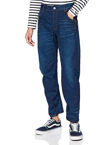 G-STAR RAW Herren Jeans Arc 3D Tapered, Blau (Medium Aged 8453-071), 31W / 32L