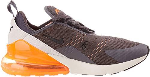 Nike Mens Air MAX 270 Shoe, Hombre, Multicolor (Thunder Grey/Black/Desert Sand 024), 43 EU