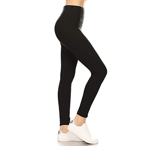 49185f327a8a46 Leggings Depot High Waisted Leggings -Soft & Slim - More Colors & 1000+  Prints