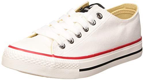 MTNG Attitude 13991, Zapatillas para Mujer, Blanco (Canvas 3 Blanco C11753), 37 EU